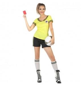 Travestimento Arbitro donna per divertirsi e fare festa
