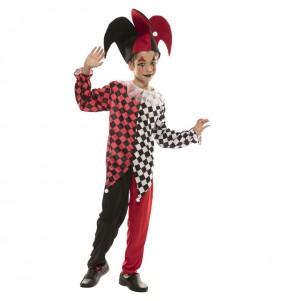 Costume da Arlecchino veneziano per bambino