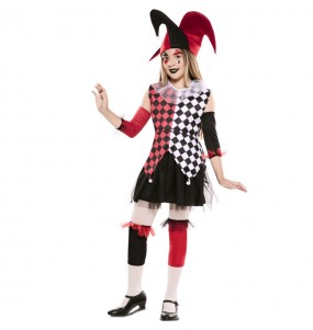 Costume da Arlecchina veneziana per bambina