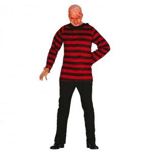 Travestimento Assassino Freddy adulti per una serata in maschera