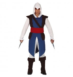Travestimento Assassin's Creed Connor adulti per una serata in maschera