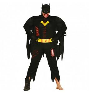 Travestimento Batman zombie adulti per una serata ad Halloween