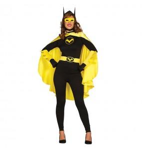 Travestimento Supereroina Batwoman donna per divertirsi e fare festa