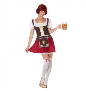 Travestimento Tedesca Oktoberfest donna per divertirsi e fare festa