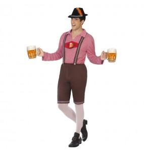 Travestimento Tedesco Oktoberfest adulti per una serata in maschera