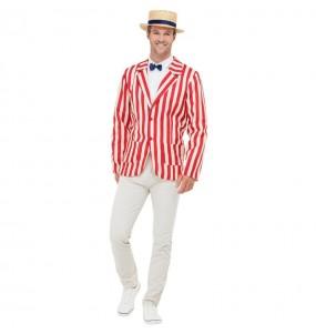 Travestimento Bert Mary Poppins adulti per una serata in maschera