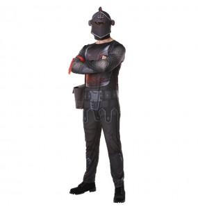 Travestimento Black Knight Fortnite adulti per una serata in maschera