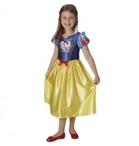 Costume da Biancaneve Sequin per bambina