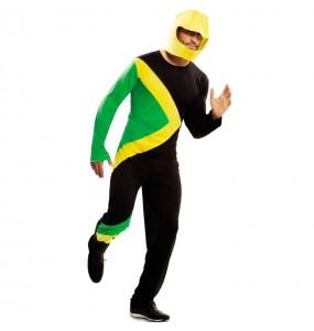 Travestimento Bob giamaicano adulti per una serata in maschera
