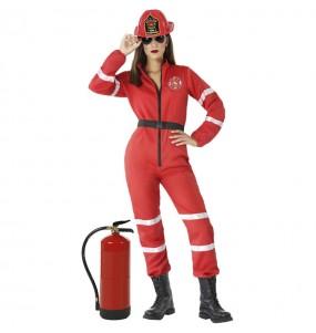 Costume da Pompiera capo per donna