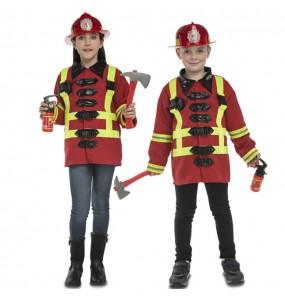 Travestimento Pompiere con accessori bambino che più li piace