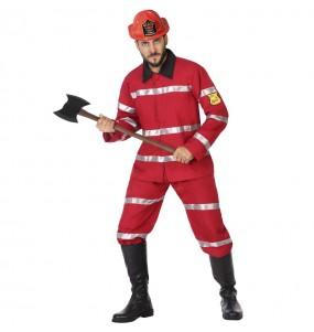 Costume da Pompiere capo per uomo