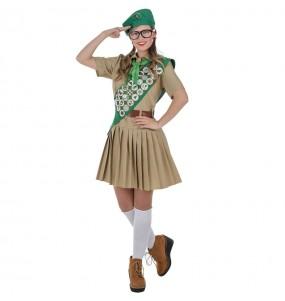 Travestimento Boy Scout donna per divertirsi e fare festa
