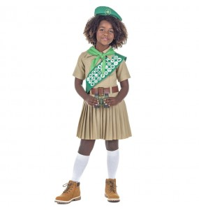 Travestimento Boy Scout bambina che più li piace