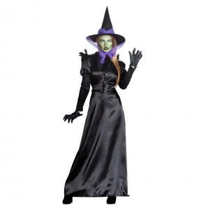 Costume Strega Biancaneve donna per una serata ad Halloween