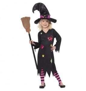 Costume da Strega candy per bambina