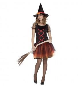 Costume Strega fantasia donna per una serata ad Halloween