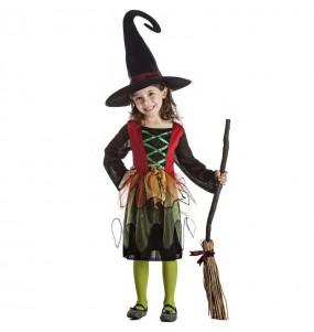 Costume da Strega maga per bambina