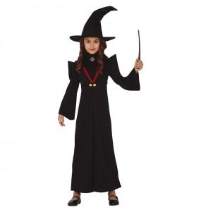Costume da Strega Minerva McGonagall per bambina