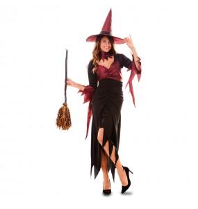 Costume Strega donna per una serata ad Halloween