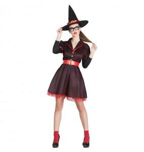 Costume Strega Pin-up donna per una serata ad Halloween