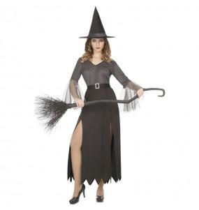 Costume Strega argentata donna per una serata ad Halloween