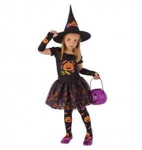 Costume da Strega trick or treat per bambina