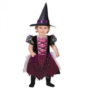 Travestimento Strega Halloween neonati con il quale il tuo bambino farà paura