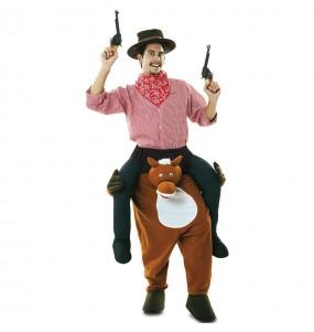 Costume sulle spalle da Cowboy rodeo per adulti