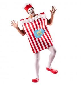 Travestimento Scatola di Popcorn adulti per una serata in maschera
