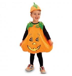Travestimento Zucca Halloween bambini per una festa ad Halloween