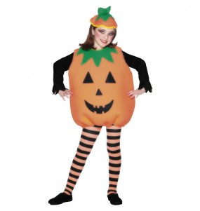 Costume da zucca di halloween per bambino