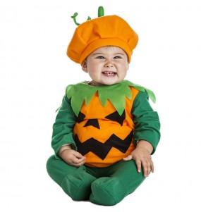 Costume da Zucca arancione per neonato