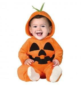 Travestimento Zucca neonati con il quale il tuo bambino farà paura