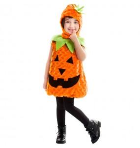 Costume da Zucca in peluche per bambino