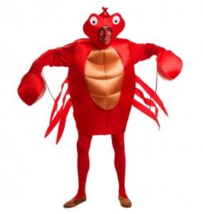 Travestimento Granchio Rosso adulti per una serata in maschera