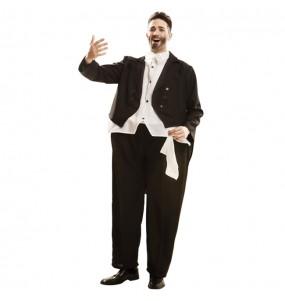 Travestimento Tenore Pavarotti adulti per una serata in maschera