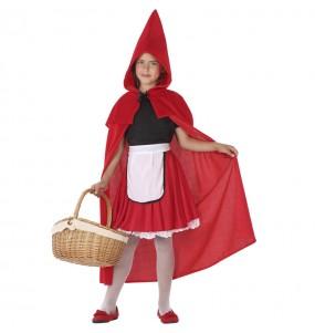 Travestimento Cappuccetto Rosso bambina che più li piace