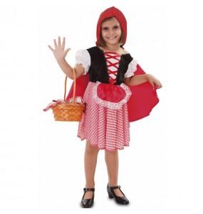 Travestimento Cappuccetto Rosso deluxe bambina che più li piace