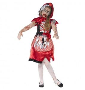 Costume da Cappuccetto rosso zombie per bambina