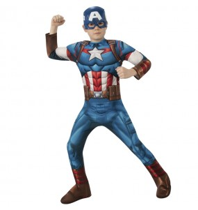 Costume da Capitan America classic per bambino