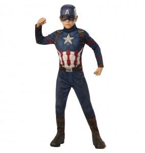 Travestimento Capitan America Marvel bambino che più li piace