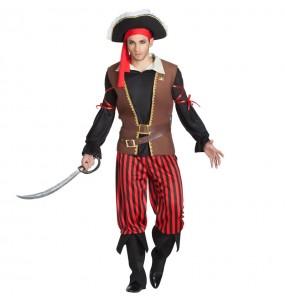 Travestimento Capitano Pirata adulti per una serata in maschera