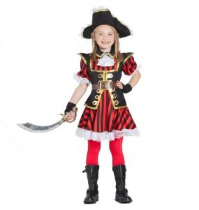 Travestimento Capitano Pirata bambina che più li piace