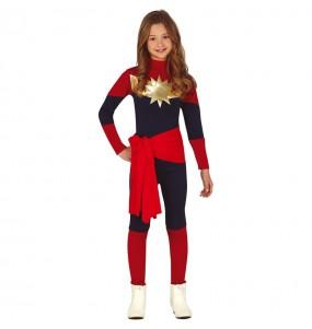 Travestimento Capitan Marvel bambina che più li piace