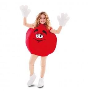 Travestimento Caramella Rossa bambina che più li piace