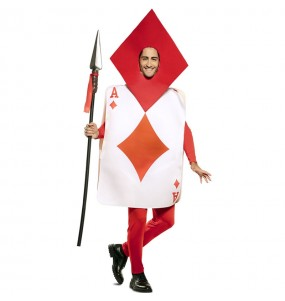 Costume da Carta Asso di Quadri per uomo