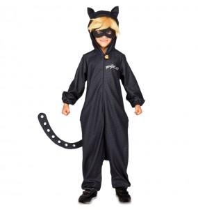 Travestimento Cat Noir Kigurumi bambino che più li piace