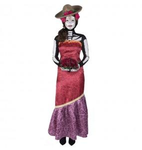 Costume Catrina Casandra donna per una serata ad Halloween