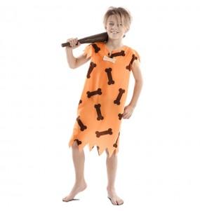 Costume da cavernicolo Fred Flintstone per bambino